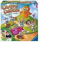 Ravensburger - 22223 - Jeu de Société - Croque-Carotte