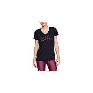 Under Armour Tech Ssv-Graphic T-Shirt Femme, Noir, M