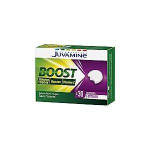Juvamine Boost à Croquer Vitamine C Ginseng & Guarana, 30 Comprimés à croquer