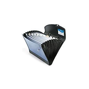 Rapesco Porte-documents trieur A4 13 compartiments Bleu