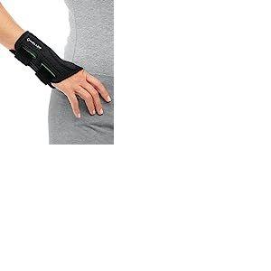 Mueller 86271 Green line Protège-poignet Main droite Noir Droite