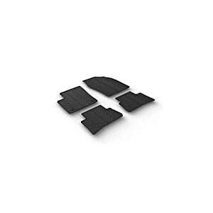Set tapis de caoutchouc Toyota C-HR 2016- (T profil 4-pièces + clips de montage)
