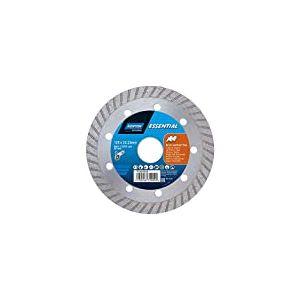 Norton Essential 70184602440 Disque à tronçonner Diamant 125x22.23mm Briques et carrelage