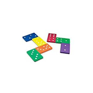 Learning Resources Dominos Géants en Mousse Souple
