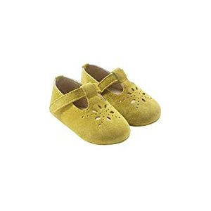Tichoups Chaussures bébé cuir souple Salomé jaune 20/21