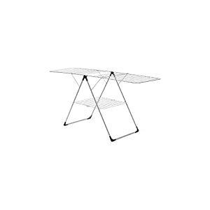 Brabantia 350184 Séchoir d'Intérieur - Modèle en T Pliable - 20 m - Gris