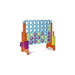 FEBER Puissance 4 - Jeu de société pour Enfants, Puissance 4 géant pour Enfants de 3 à 8 Ans (Famosa 800012910)