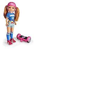 Nancy - Une journée avec mon overboard, poupée et hoverboard, pour les enfants de 3 ans (Famosa 700015134)