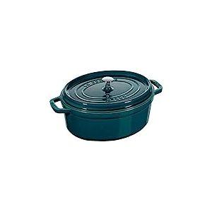 Staub 40510-598-0 Cocotte en Fonte Ovale, La Mer, 31 cm