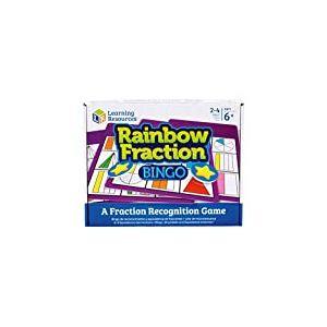 Loto de fractions Rainbow Fraction de Learning Resources