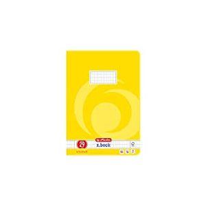 Herlitz 3322906 Cahier d'écolier Format A4/16 Quadrillé / Marge Plusieurs coloris Lot de 10 (Import Allemagne)