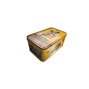 Top Media 180378 Lego Ninjago Serie IV Boîte de 10 boites de Cartes en Or limitées avec Carte XL et Figurine Multicolore