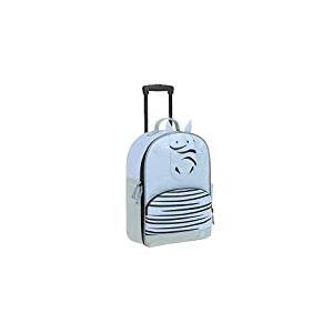 LÄSSIG Valise pour enfant avec tige télescopique et roulettes à partir de 3 ans/Trolley About Friends, Kaya Zebra