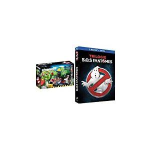 Playmobil - 9219 - Quartier Général Ghostbusters + SOS Fantômes Trilogie [Blu-ray + Copie digitale]