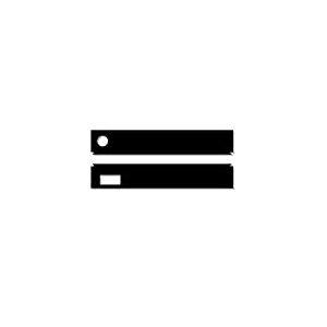 iQuatics Lot de clapets de Rechange universels compatibles Juwel Rio 125 avec écumoire/mangeoire, Noir
