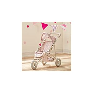 Petit Monde de Olivia Ol-00002-Pois Princesse Baby Doll Jogging Poussette