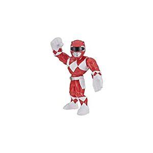 Power Rangers Playskool Super Hero Adventures Mega Mighties - Figurine Ranger Rouge - 25 cm