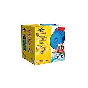 Laguna PT1738 Lot de 5 filtres en Mousse pour Pressure-Flo 12000 et 14000 Bleu 27,5 x 27,5 x 31 cm