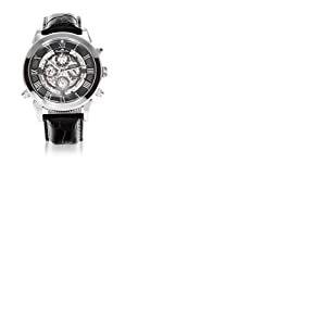 Lindberg & Sons Homme Analogique Automatique Montre avec Bracelet en Cuir SK14H011