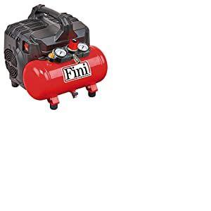 FINI SILTEK S/6 Compresseur silencieux (59 dB), 750 W, 230 V, rouge