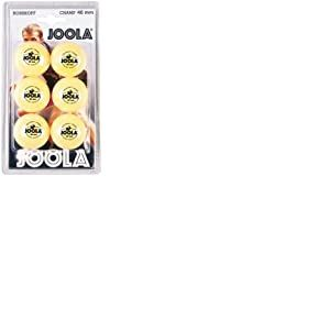 JOOLA ROSSI CHAMP 40+ Lot de 6 balles de tennis de table