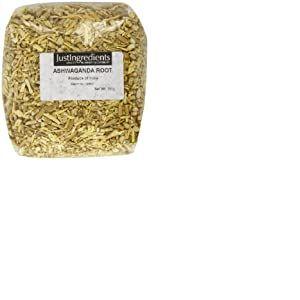 JustIngredients Essential Racine d'Ashwagandha coupée (Ashwagandha Root cut) 250g