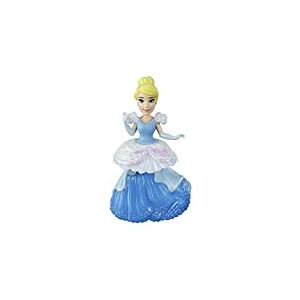 Disney Princesses - Poupee Princesse Disney Mini Poupee Royal Clips Cendrillon - 8 cm