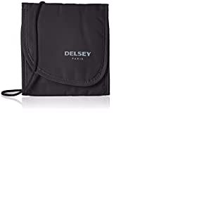 DELSEY PARIS - TRAVEL NECESSITIES - Pochette securité tour de cou, 14 cm, Noir