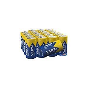 Varta - 80411286601 - Piles alcalines Industrial C Baby LR14 - pack de 20