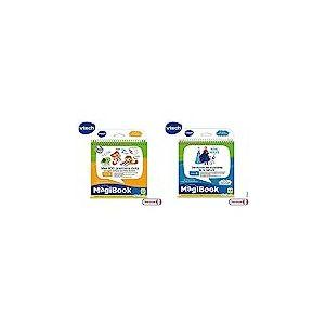VTech - Livre MagiBook - Mes 200 Premiers Mots Français/Anglais - Livre bilingue, Livre éducatif & Livre MagiBook - La Reine des Neiges - Découvre Les mystères de la Nature, Livre éducatif