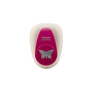 Vaessen Creative 21439-010 Perforatrice à levier papillon Métal/Plastique Pourpre 15,1 x 10,9 x 8,5 cm