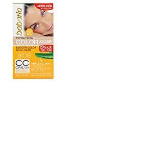 Babaria - CC crème visage à l'aloé véra légèrement teintée SPF20 50ml