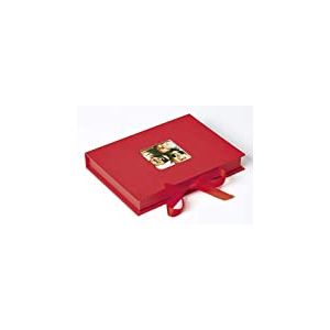 Walther FB-112-R boîte pour Photos Fun, jusqu'à 700 Photos 10x15 cm, Rouge