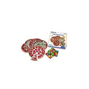Learning Resources- Jeu de Fractions de Pizza, LER5060 - version anglaise