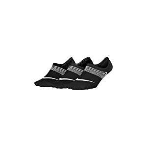 Nike - Lightweight Train-Pack de 3 paires de chaussettes pour femme - Noir/Blanc - Taille: L