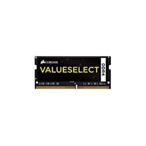 Corsair CMSO4GX4M1A2133C15 Value Select 4GB (1x4GB) DDR4 2133Mhz CL15, Noir