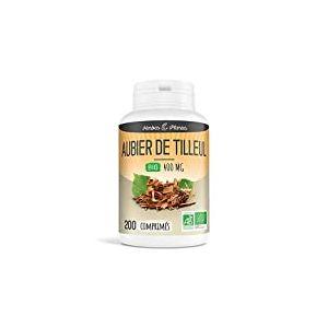 Herbes Et Plantes Aubier de Tilleul Bio 200 Comprimés 400 mg