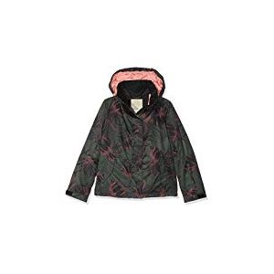 Roxy Jetty Veste Fille True Black_Swell Flowers Girl FR : L (Taille Fabricant : L)