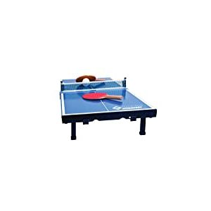 Donic-Schildkröt 2287916 Set de Tennis de Table Mini Mixte Enfant, Noir/Bleu/Blanc, 370 x 358 x 60 cm