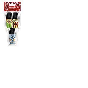 Surligneur- STABILO BOSS MINI Sweet Friends- Coque x 3 Surligneurs- Jaune / Bleu / Vert