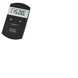 TFA-Dostmann–Minuteur numérique et Chat Chronomètre 38.2005(Noir)
