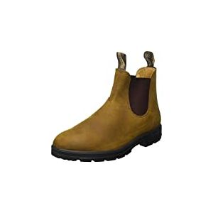 Blundstone Classic 550 Series, Bottine Chelsea Mixte, Crazy Horse Marron, 45 EU