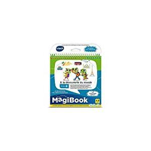 VTech- MAGIBOOK Livre intéractif, 80-462405