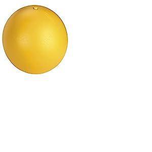 Kerbl Balle en Plastique pour Chien Jaune 30 cm