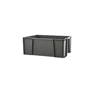 Sundis MasterBox 27L Bac renforcé Ultra résistant apte au Contact Alimentaire, Plastique, Gris
