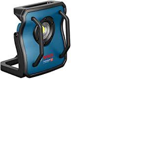 Bosch Professional 0601446800 GLI 18 V-4000 C Projecteur de chantier 18 V (sans batterie- luminosité : 4 000 lm dans un carton), 18 V bleu