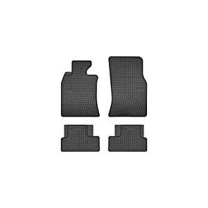 DBS Tapis de Voiture - sur Mesure pour Mini One et Mini Cooper R56 (2006-2013) - 4 pièces - Tapis de Sol antidérapant pour Automobile - Souple - 100% Caoutchouc