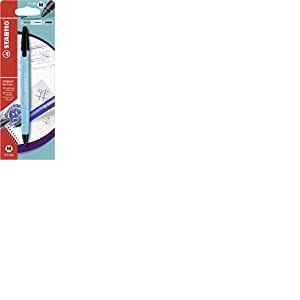 Stylo roller effaçable - STABILO Gel Exxx - Blister de 1 stylo à encre gel rechargeable - Turquoise