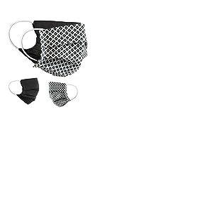 BaF Style18 Tissu Masque buccal et Nasal rÃutilisable Mixte Adulte, Gris, OneSize