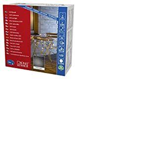 Konstsmide 3749-800 Filet Lumineux à LED, Plastique/,, 3.84 W, Or